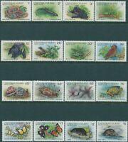 Christmas Island 1987 SG229-244 Wildlife MLH
