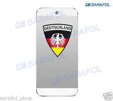 Deutschland Handy Aufkleber 022 Germany Smartphone Sticker 5,0x5,5 cm EM 2016