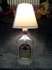 Whiskey bottle lamps