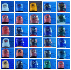 NHL HOCKEY MINI CAP HAT ORNAMENT DANGLER CHARM ZIPPER PULLS - YOU PICK ONE!