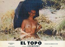 ALEJANDRO JODOROWSKY MARA LORENZIO EL TOPO 1970  VINTAGE PHOTO LOBBY CARD N°3