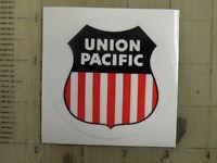 "Vintage Railroad Union Pacific sticker decal 3"""