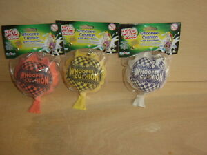Whoopee Cushion Keyrings x 3. New in sealed packs. Guaranteed delivery
