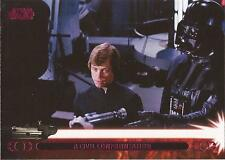 "Star Wars Jedi Legacy - Magenta Parallel Card 37A ""Turns Luke Over"""