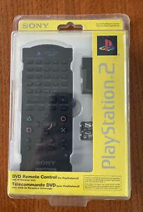 Sony Playstation 2 PS2 BRAND NEW SEALED DVD Remote Control w/ IR Receiver Unit