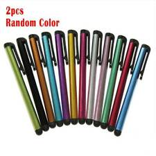 2PCS Metal Capacitive Screen Stylus Pen For Smart Phone Ipad Tablet PC