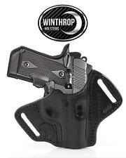 Kimber Micro .380 cal Lasergrips OWB Shield Holster R/H Black