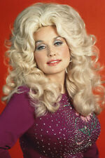 DOLLY PARTON COLOR 24X36 POSTER LONG BLONDE HAIR 70'S