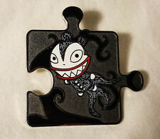 Disney Nightmare Before Christmas CHASER Scary Teddy Puzzle Pin LE 500