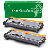 2 pk TN660 TN630 High Black Toner lots For Brother HL-L2300D L2340DW DCP-L2540DW