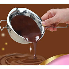 Chocolate Melting Pot Oven Cheese Boiler Melter Fondue Baking Heater Tool Bowl