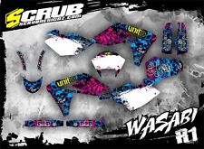 SCRUB Husqvarna graphics decals kit SMR 570 2000-2004 stickers '00-'04
