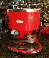 DeLonghi Dedica 4 Cups Coffee Maker - Red