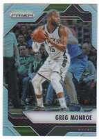 2016-17 Panini Prizm Basketball Silver Prizm #15 Greg Monroe Bucks