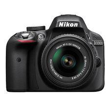Nikon D3300 Digital SLR Camera Black + NIKKOR 18-55mm f/3.5-5.6G VR AF-P Lens