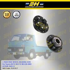 1 Pair Free Wheel Bearing Hub For Toyota BU72 BU172 BU128 4WD (43508-36011)
