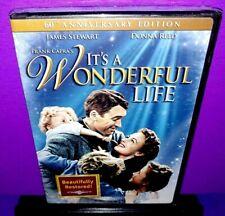 Its a Wonderful Life (DVD, 2006, 60th Anniversary Edition) James Stewart NEW