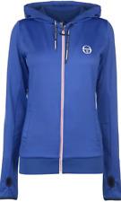 Sergio Tacchini Ella Track Hoodie Hoody Womens Ladies Blue FZ Size 8 XS *REF93