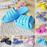 Womens Mens Bathroom Bathing Non-slip Slippers Summer Home Soft Shower Sandals