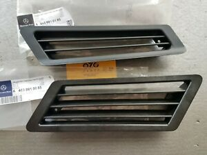Mercedes G-class W463 Side vent air intake Grilles LH RH A4638810085 A4638810185