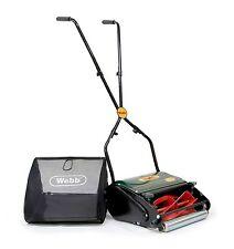 Webb H12R Hand Push Cylinder Lawn Mower w/ Rear Roller + WARRANTY! RRP £89.99!