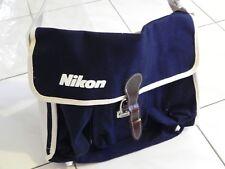 Nikon Camera Vintage Canvas Bag - 1980s camera bag new