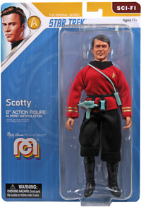 "NEW 2021 MEGO 8"" STAR TREK SCOTTY FIGURE MOC! TOS!"