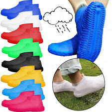 Silicone Overshoes Rain Waterproof Shoe Covers Cover Protector Recyclable X