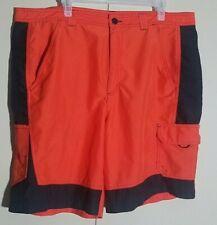 Magellan Outdoors Fish Gear  Size 40 Mens Orange Shorts