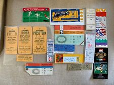Vintage Olympic World Cup Collection Soccer Futbol Memorabilia Signatures Rare