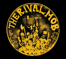 "THE RIVAL MOB - MOB JUSTICE 12"" LP ++RED VINYL++ MIND ERASER MENTAL NO TOLERANCE"