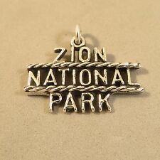 .925 Sterling Silver ZION CHARM NEW Pendant National Park Utah Kolab 925 NP11