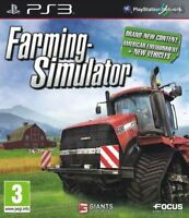 Farming Simulator Sony PlayStation 3 PS3 - MINT - 1st Class Delivery