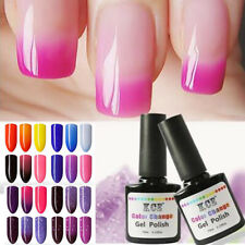 Stylish Women Make-up Temperature Color Change Nail Gel Polish Soak-off UV|10ml