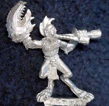 1997 caos DAEMONETTE de Slaanesh Cuerno Soplador comando Citadel Warhammer músico