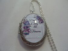 DAD CARRY ME FOREVER LOCKET MEMORIAL