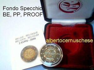 2 euro 2009 Fs BE PP proof BELGIO EMU UEM Belgique Belgien Belgium Бельгия