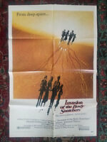 INVASION OF THE BODY SNATCHERS Original 1978 Movie Poster Donald Sutherland