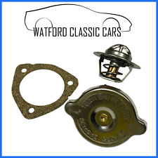 MGB Rubber Bumper Thermostat, Gasket and Cap Set. Winter