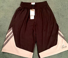 NWT Mens Adidas S Black/Gray/Light Gray Superstar Basketball Shorts Small