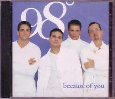 Because Of You 1998 by 98 Degrees *NO CASE DISC ONLY* #56B