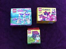 3x FACTORY SEALED LEGO SETS DISNEY PRINCESS CLASSIC & CHICKEN MAN