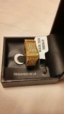 9 new in box bought at urban outfitters King Ice Rectangle Cz Ring 14k Gold size