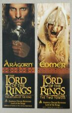 New ListingPair Of Lord Of The Rings Bookmarks Circa 2003 - Aragorn/Arwen & Eomer/Eowyn