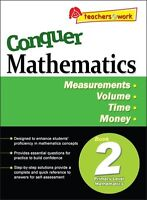Conquer Mathematics Book YEAR 2: Measurements, Volume, Time, Money