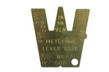 Walbro Einstell Lehre für Vergaser Nadeln Abstandhalter spezial Werkzeug