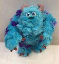 """Monsters Inc Plush Sulley Bend Em Pose 'Em Stuffed Animal Character 6"""" Toy 2001"""