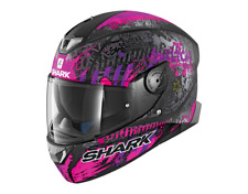 SHARK Helm Skwal 2 Switch Rider 2 pink matt lila Gr. S = 55/56 Sonnenblende NEU