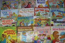 Lot of 10 The Berenstain Bears Books Children Kids Picture Random Free Shipping