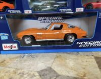 1965 Chevy Corvette Coupe Stingray Diecast Model Car Maisto 1:18 Scale NEW